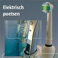 Brochure: elektrisch poetsen